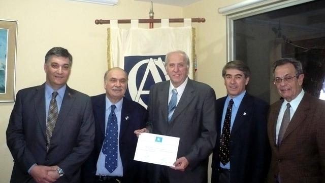 declaración por la Federación Argentina de Colegios de Odontólogos al Círculo Argentino de Odontología como Entidad Certificante para los Programas de Educación Continua