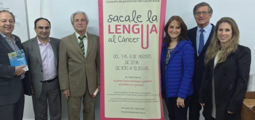 Campaña sacale la lengua al cáncer